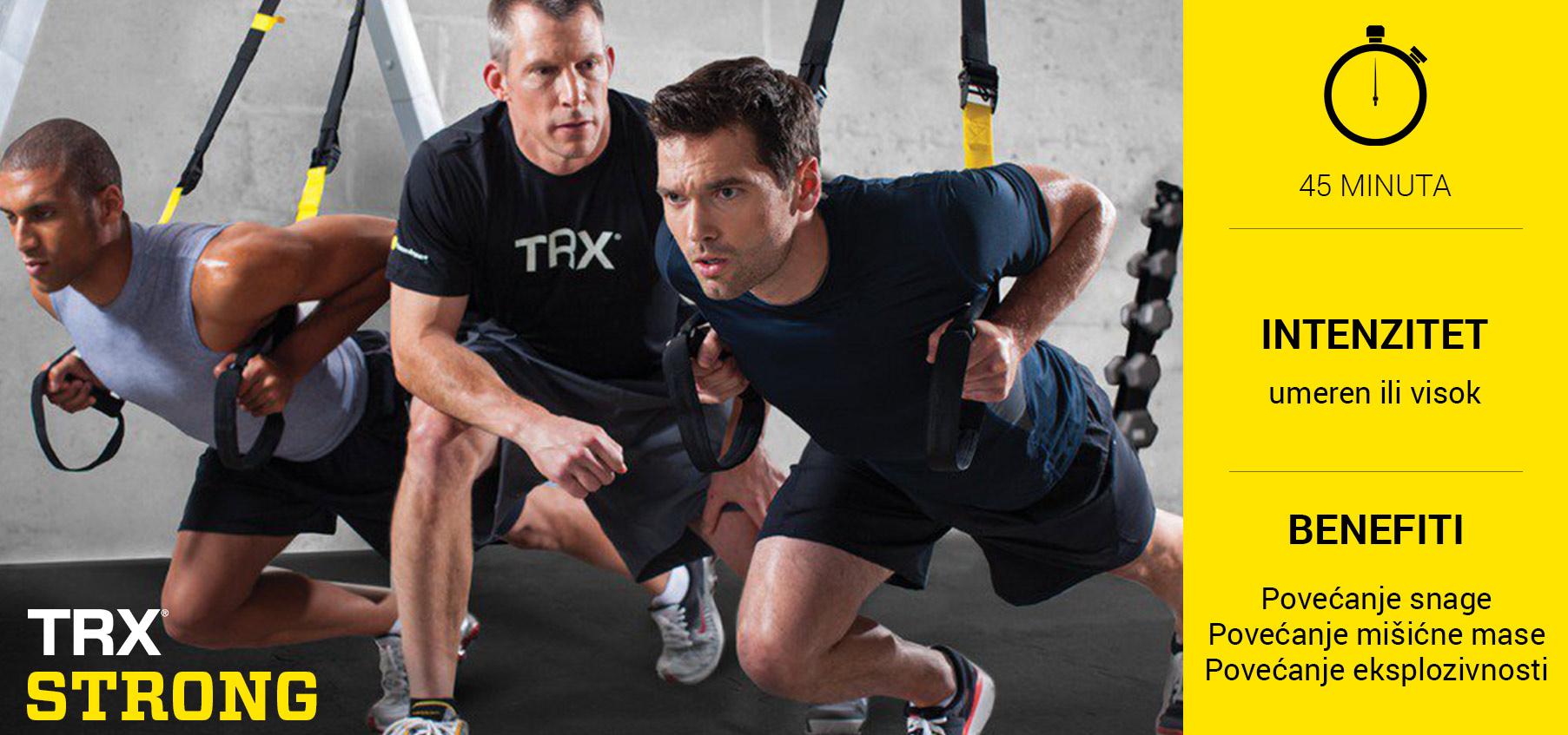 TRX Strong - trening za povećanje snage